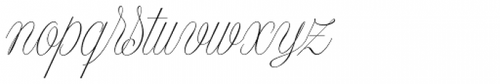 Model Small Standard Two Font LOWERCASE