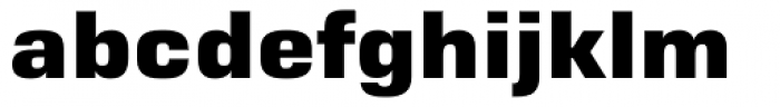 Moire ExtraBold Font LOWERCASE