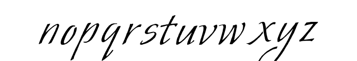 Mr. Wade Font LOWERCASE