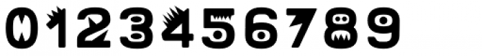 Mrs Onion Monsters Font OTHER CHARS