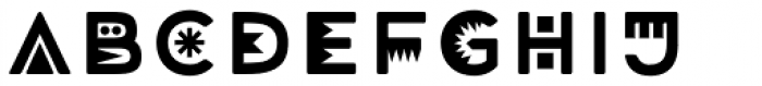 Mrs Onion Monsters Font LOWERCASE