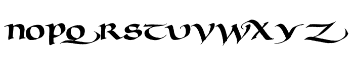 Murray Uncial Font UPPERCASE
