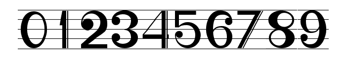 Musicografi Font OTHER CHARS