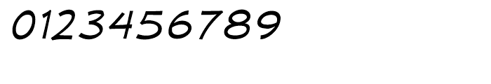 Mufferaw Expanded Italic Font OTHER CHARS