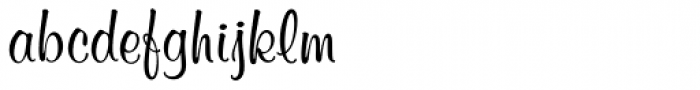 Murray Hill D Font LOWERCASE