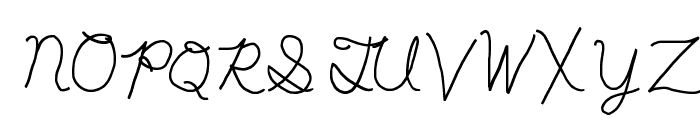 My First Ft Font UPPERCASE