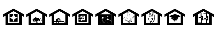 MyHouse Font OTHER CHARS