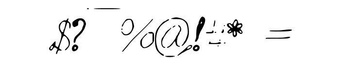 MyMineMai Font OTHER CHARS