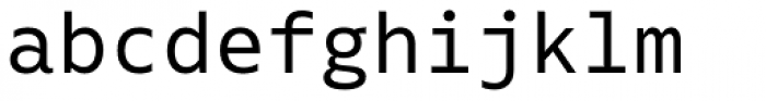 Native Font LOWERCASE
