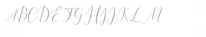Natural Beauty Font UPPERCASE