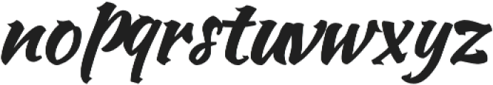 NBY otf (400) Font LOWERCASE