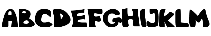 Nb Obese Font LOWERCASE