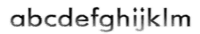 Need Glasses ? Font LOWERCASE
