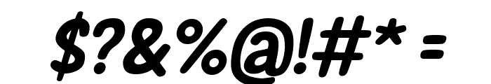 New Era Casual Bold Italic Font OTHER CHARS