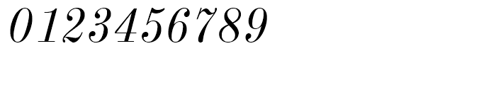 New Standard Italic Font OTHER CHARS
