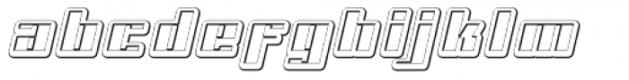 NEW Cut Out Font LOWERCASE