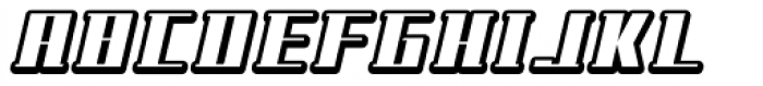 NEW Shaded Font UPPERCASE