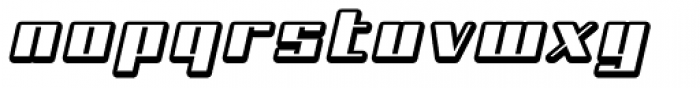 NEW Shaded Font LOWERCASE