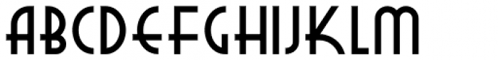New Deal Deco NF Bold Font UPPERCASE