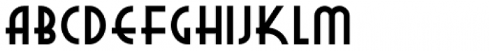 New Deal Deco NF Bold Font LOWERCASE