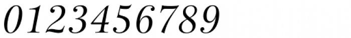 New Esprit Pro Display Italic Font OTHER CHARS