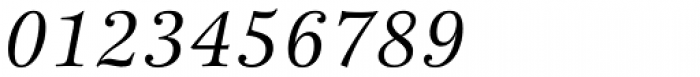 New Esprit Pro Italic Font OTHER CHARS