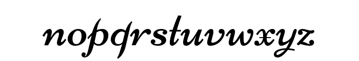 Niconne Font LOWERCASE