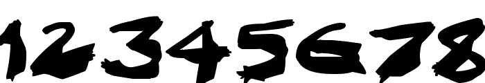Nightmare Ink Font OTHER CHARS