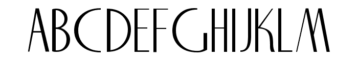NiteClub Normal Font UPPERCASE