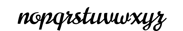 Norican Font LOWERCASE