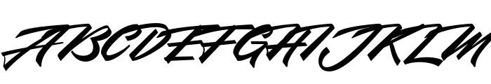 Northern Freedom Font UPPERCASE