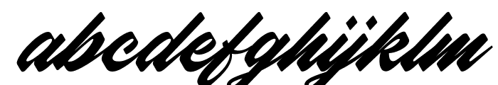 Northern Freedom Font LOWERCASE