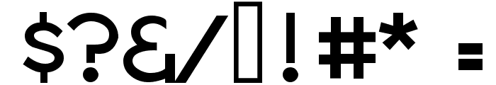 Notation JL Font OTHER CHARS