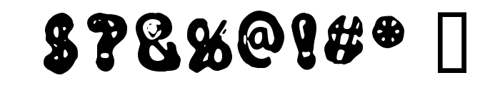 Noyes Font OTHER CHARS