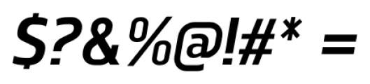 Norpeth Bold Italic Font OTHER CHARS