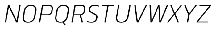 Norpeth Italic Font UPPERCASE