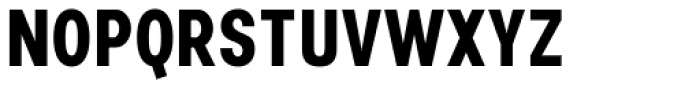 Nominee Bold Condensed Font UPPERCASE