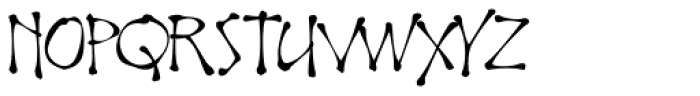 Noobia Smooth Font UPPERCASE