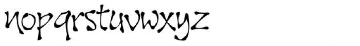 Noobia Smooth Font LOWERCASE