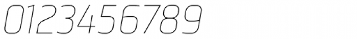 Norpeth Light Italic Font OTHER CHARS