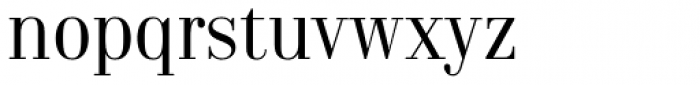 Norr Fine Font LOWERCASE