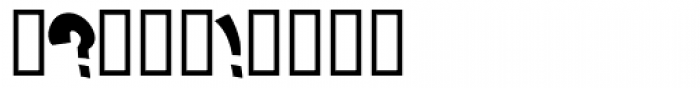 Nosegrind Font OTHER CHARS
