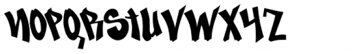 Nosegrind Font LOWERCASE