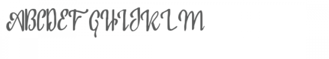 North Valley Font UPPERCASE