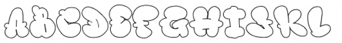 Nubby Font UPPERCASE