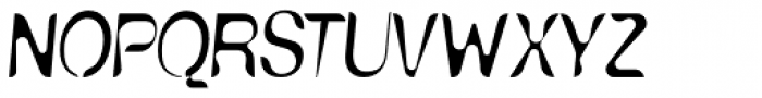 Nud E Anorexic Font UPPERCASE