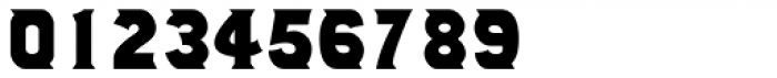 Number 514 Font OTHER CHARS