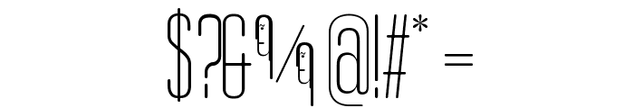 Obcecada-Sans Font OTHER CHARS