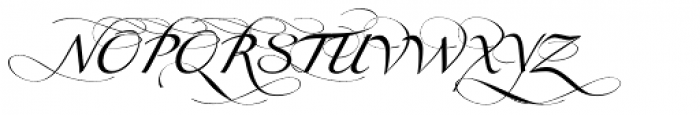 Obsession A Font UPPERCASE