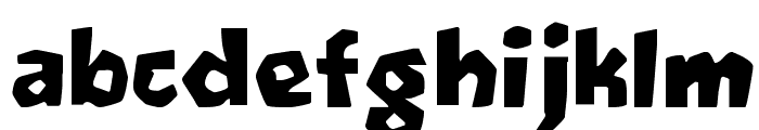 Oetztype Font LOWERCASE